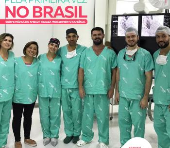 Equipe médica de Cuiabá realiza procedimento cardíaco inédito no Brasil