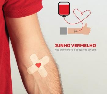 Junho Vermelho - Mês de Incentivo à Doação de Sangue